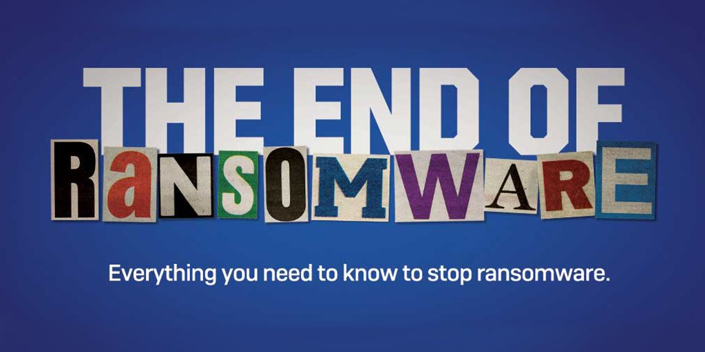 😟😟 Worried about #ransomware? Check out the #Sophos anti-ransomware hub to learn more about it and how to stop it... http://bit.ly/2rQjXOq  #Virus #Security #Data
