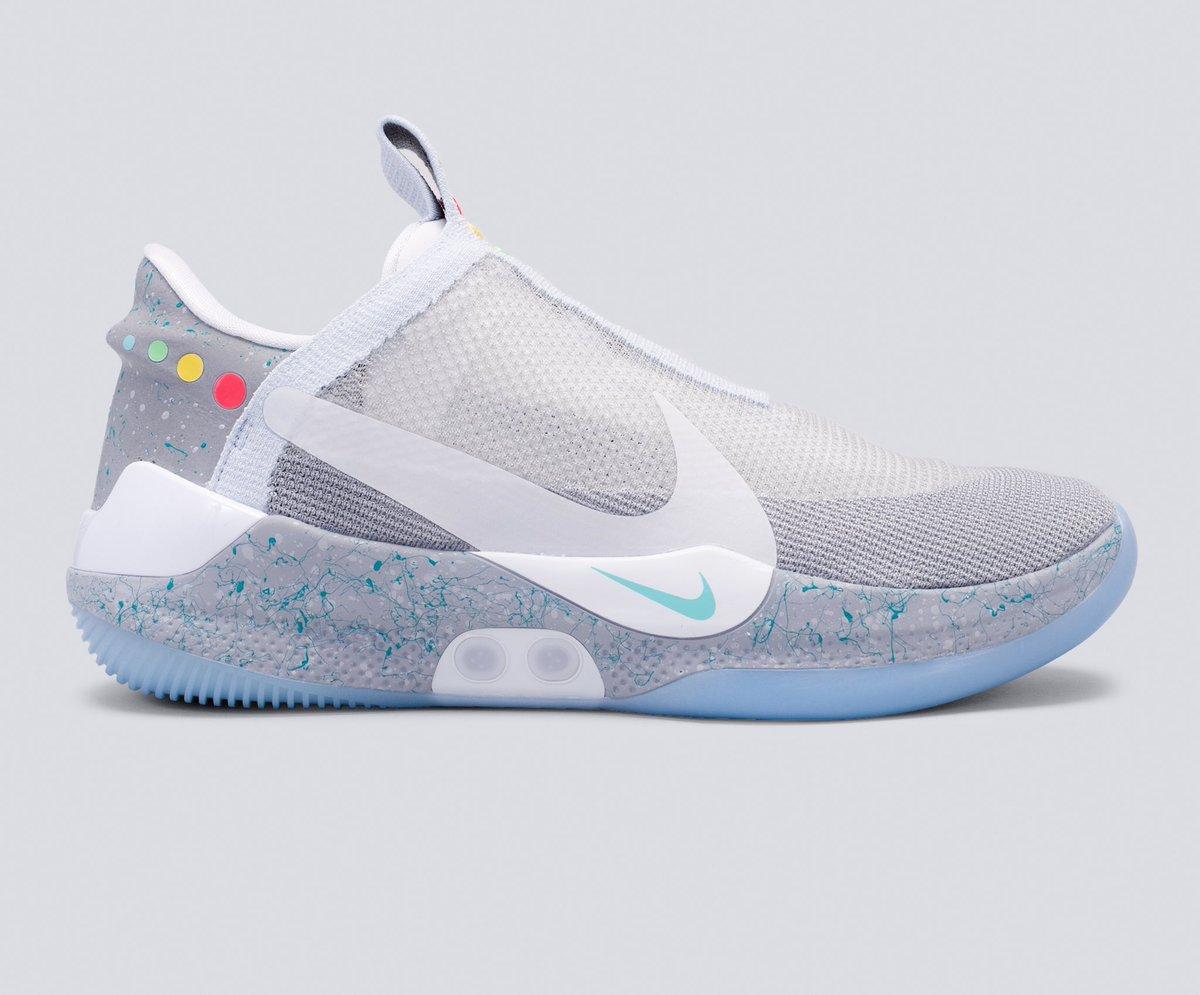 Nike Adapt BB in Wolf Grey