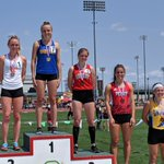Image for the Tweet beginning: Shelby's Makennna Heimlich takes 3rd