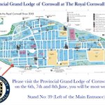 Image for the Tweet beginning: #ProvincialGrandLodgeCornwall look forward to attending