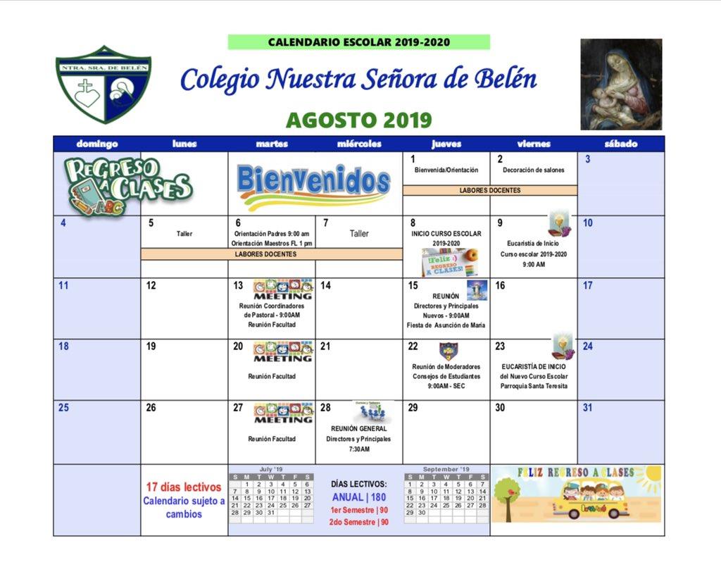 Calendario Belen 2020.Colegio Nuestra Senora De Belen Guaynabo Cnsb Guaynabo