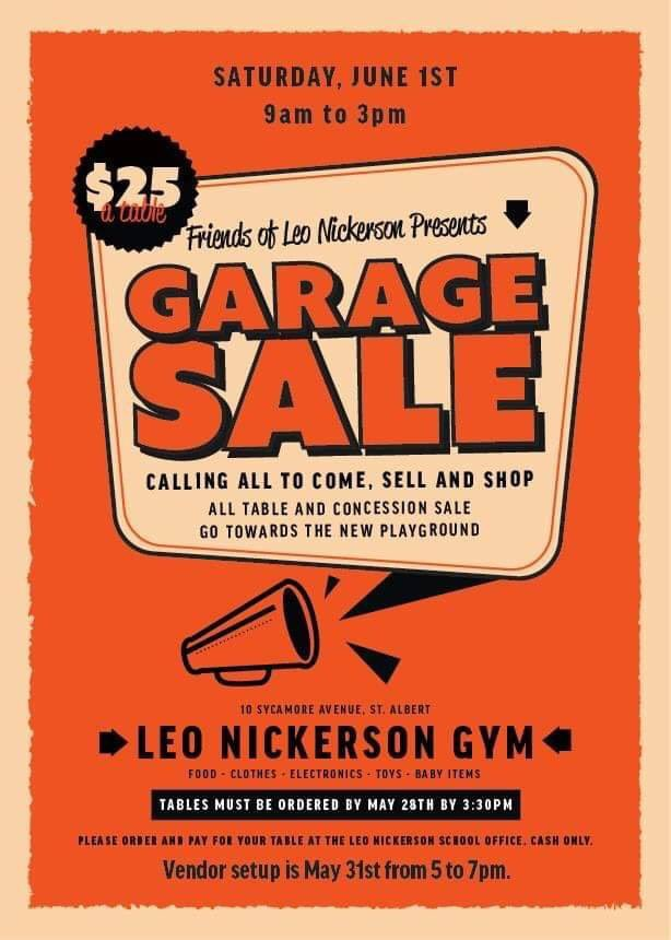 The Garage Sale is today!  The Now Radio Truckcicle is on its way! Come on down and buy other peoples stuff and get a popcicle while you're at it!