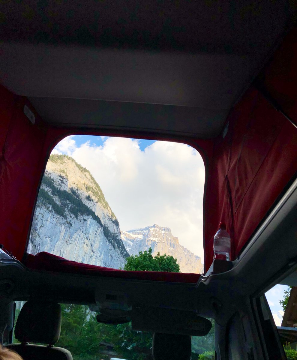 Sun sets and view from inside the camper #vw #california https://t.co/GdmfX6qNzN