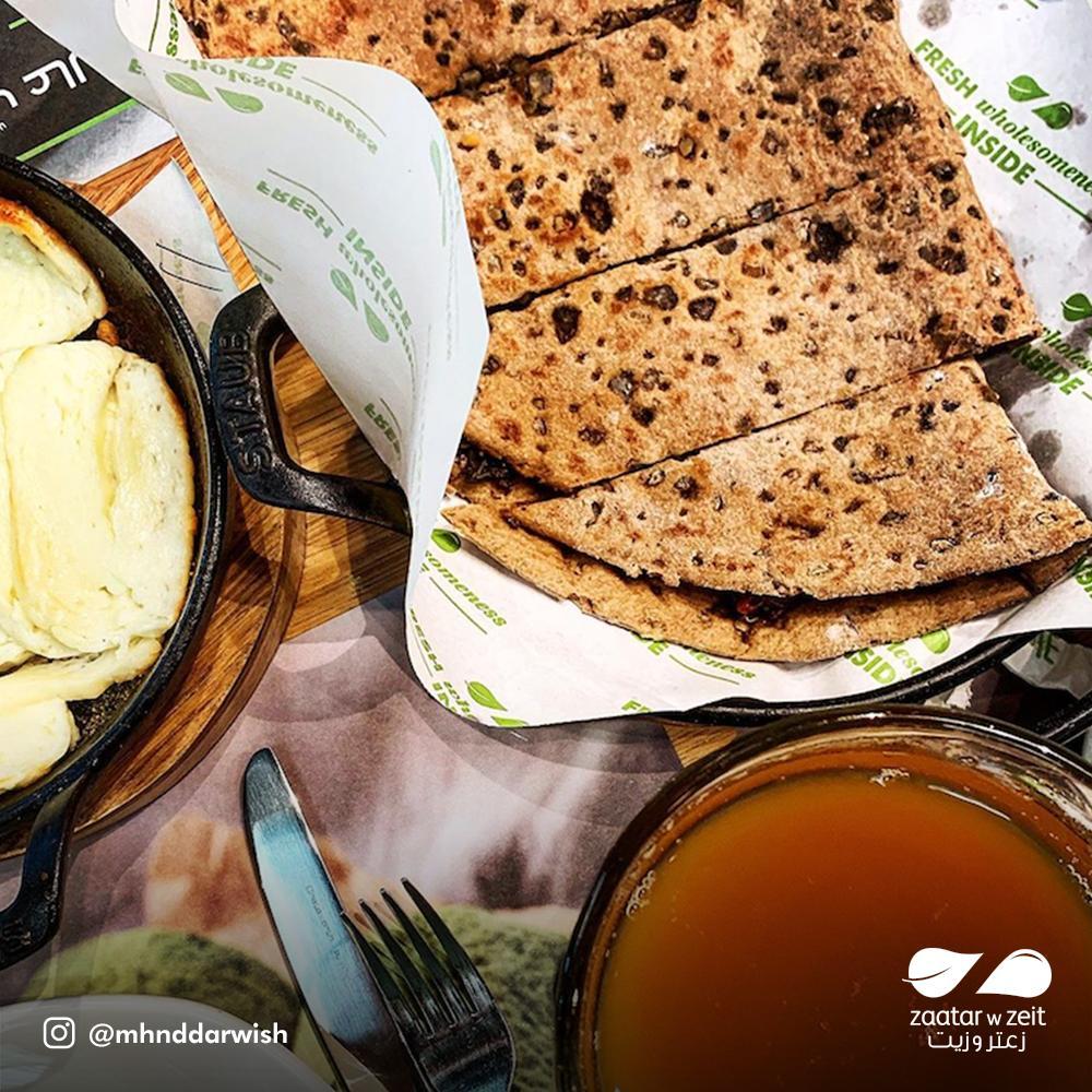 مطعم زعتر وزيت الفروع المنيو مع الأسعار والتقييم العام مطاعم السعودية