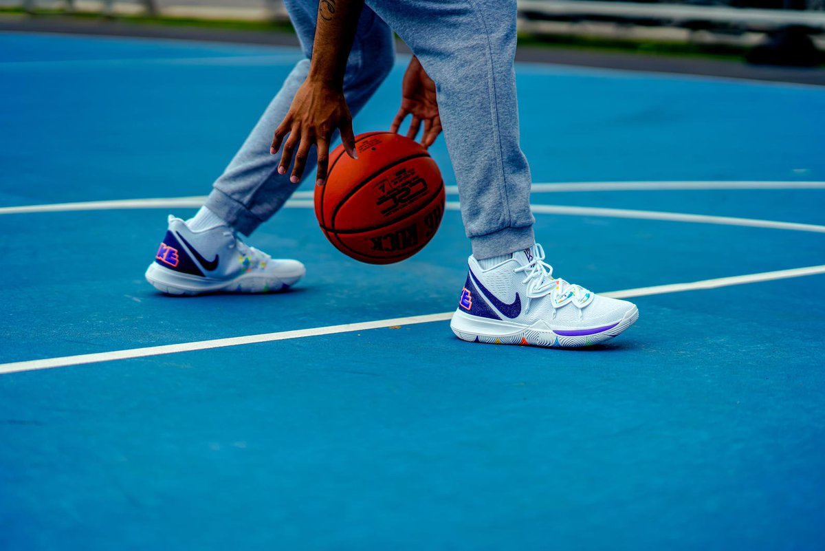 7ebba93075 Take the Courts in the @Nike Kyrie 5 'Have a Nike Day'. Grab A Pair Next  Saturday. http://finl.co/txV pic.twitter.com/qn2X4MEswj