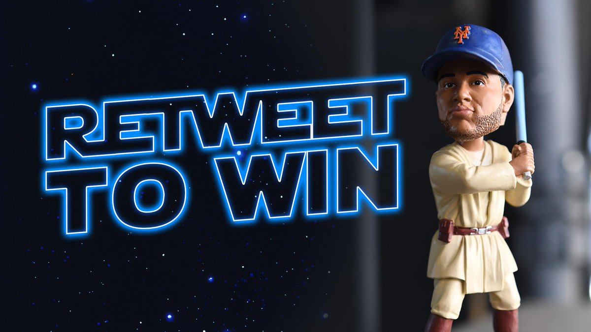 RT you will. A chance to win an Obi-Wan Canóbi Bobblehead, you have. Win before it has been given away in the galaxy. #MayTheForceBeWithYou
