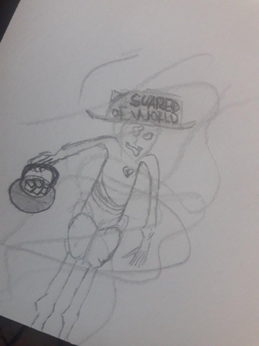 SCARED OF WORLD   dibujo random <br>http://pic.twitter.com/PLLXFdPmaX