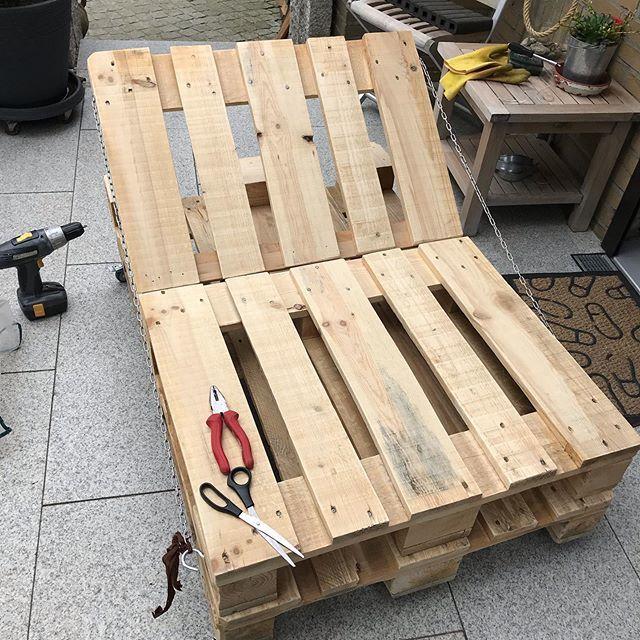 balkon palettenmobel europalette http bit ly 2hsapfg pic twitter com utl0zga0gv