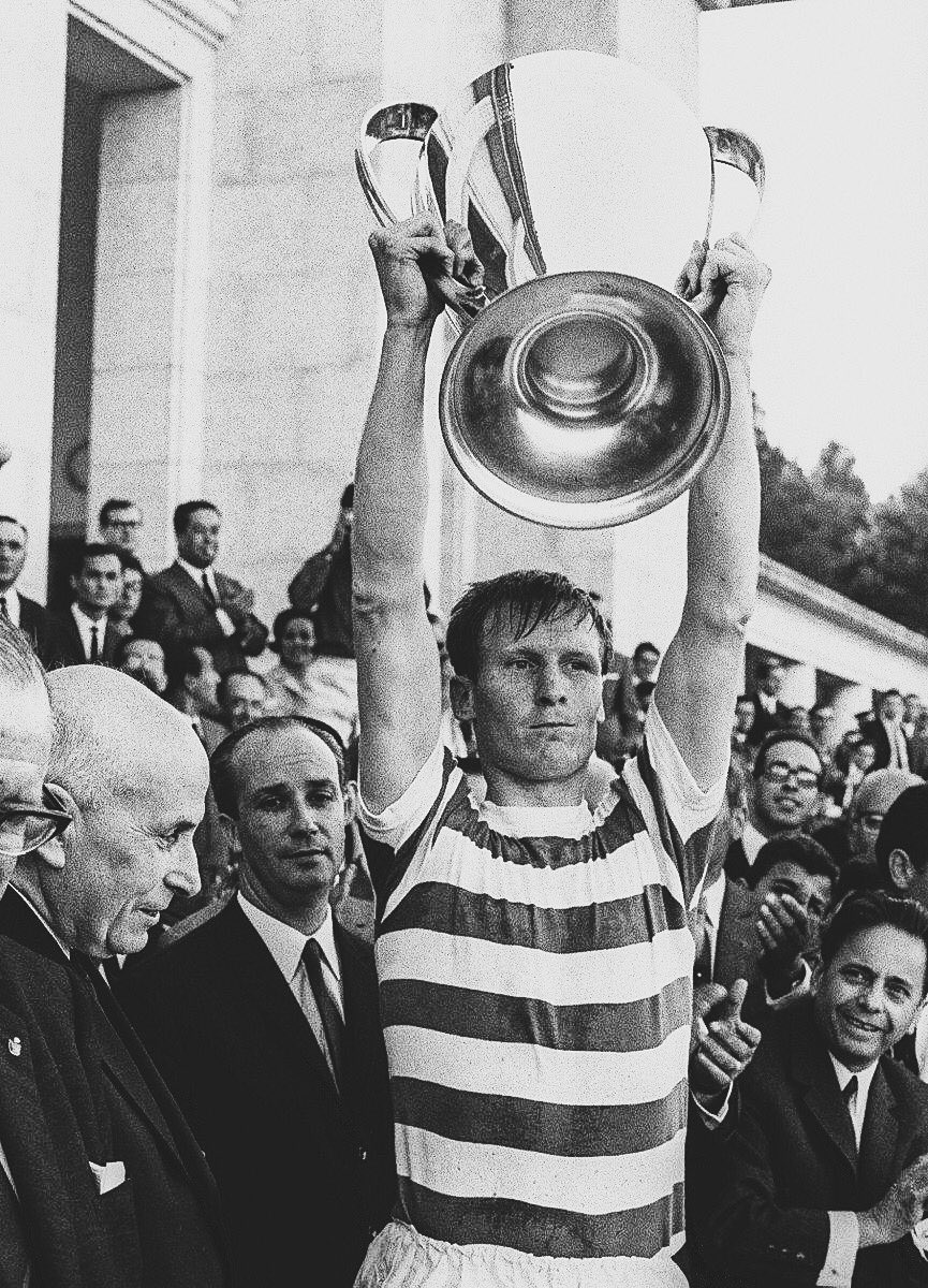 52 Years Ago Today:   @CelticFC beat @Inter 2-1 to win the European Cup.   The FIRST British side to win the European Cup.   The ONLY Scottish side to win the European Cup.   Every player in the squad was born within 30 miles of Celtic Park.   Lisbon Lions. <br>http://pic.twitter.com/qk94rLrBDr