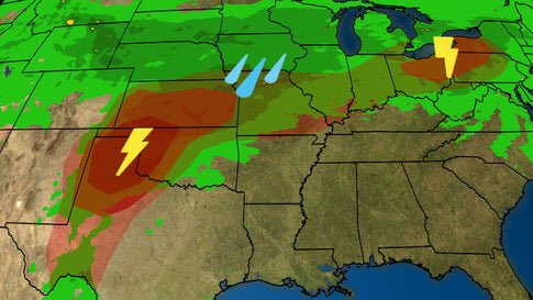 Severe Threat Returns for Midwest  From The Weather Channel iPhone App <br>http://pic.twitter.com/r2PBly4aNT