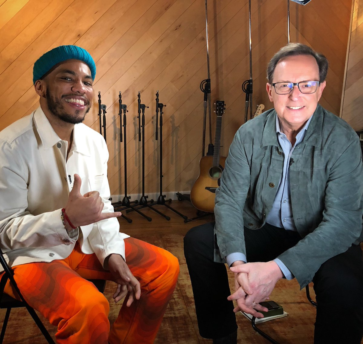 He plays @TheGarden next week. But first #Grammy winner @AndersonPaak joins us for #SaturdaySessions on @CBSThisMorning Saturday