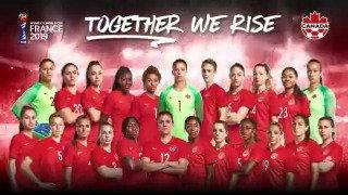 #TogetherWeRise 🌎🏆 #CANWNT 🍁 #FIFAWWC