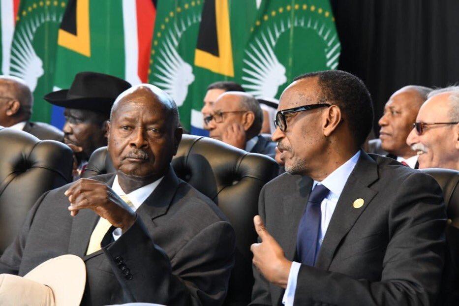 Presidents @KagutaMuseveni  @PaulKagame joins more than 30,000 South Africans, 22 Heads of State #Inauguration2019 ceremony President-elect H.E  @CyrilRamaphosa at Loftus Versfeld Stadium. Photo credit @lindahNabusayi  @HarrietHarman @ukinsouthafrica @SABCNewsOnline #WeThePeople