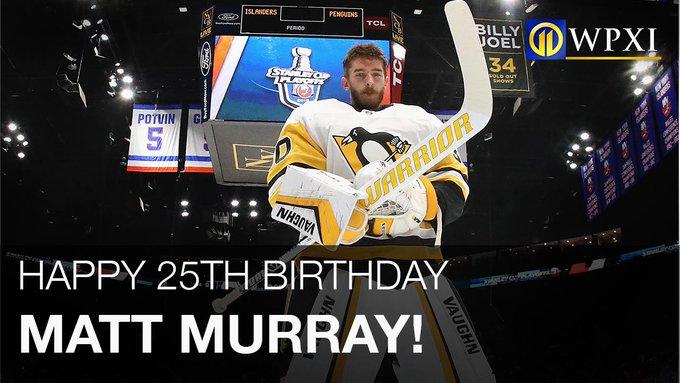 Happy 25th Birthday Matt Murray!
