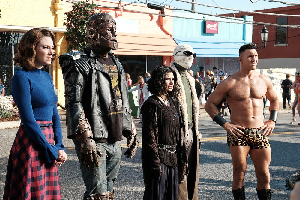 Who&#39;s your favorite character from Doom Patrol?  (Bonus: favorite episode?)<br>http://pic.twitter.com/Zo7NMxfs58