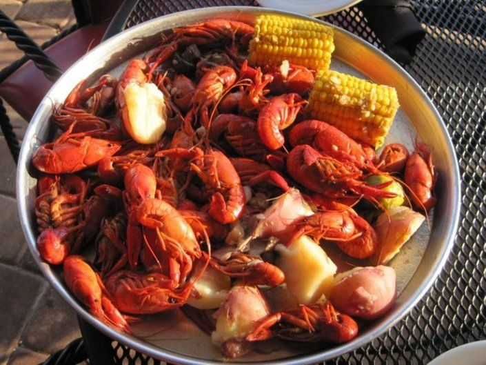 TODAY! We're hosting our crawfish boil from 4PM-6PM! We suggest the $35 bargain bundle – #Louisiana Crawfish with Corn on the Cob, spicy and peppery New Potatoes, tangy Coleslaw, quarter Muff-a-Lottas and sweet and savory Cornbread! Let the Good Times Boil!