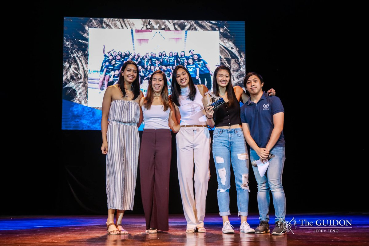 IN PHOTOS: The Ateneo athletic community came together during the Athletes Night Awards 2019 to honor the key players and high moments of the recently concluded UAAP Season 81. tgdn.co/2Qn79KE