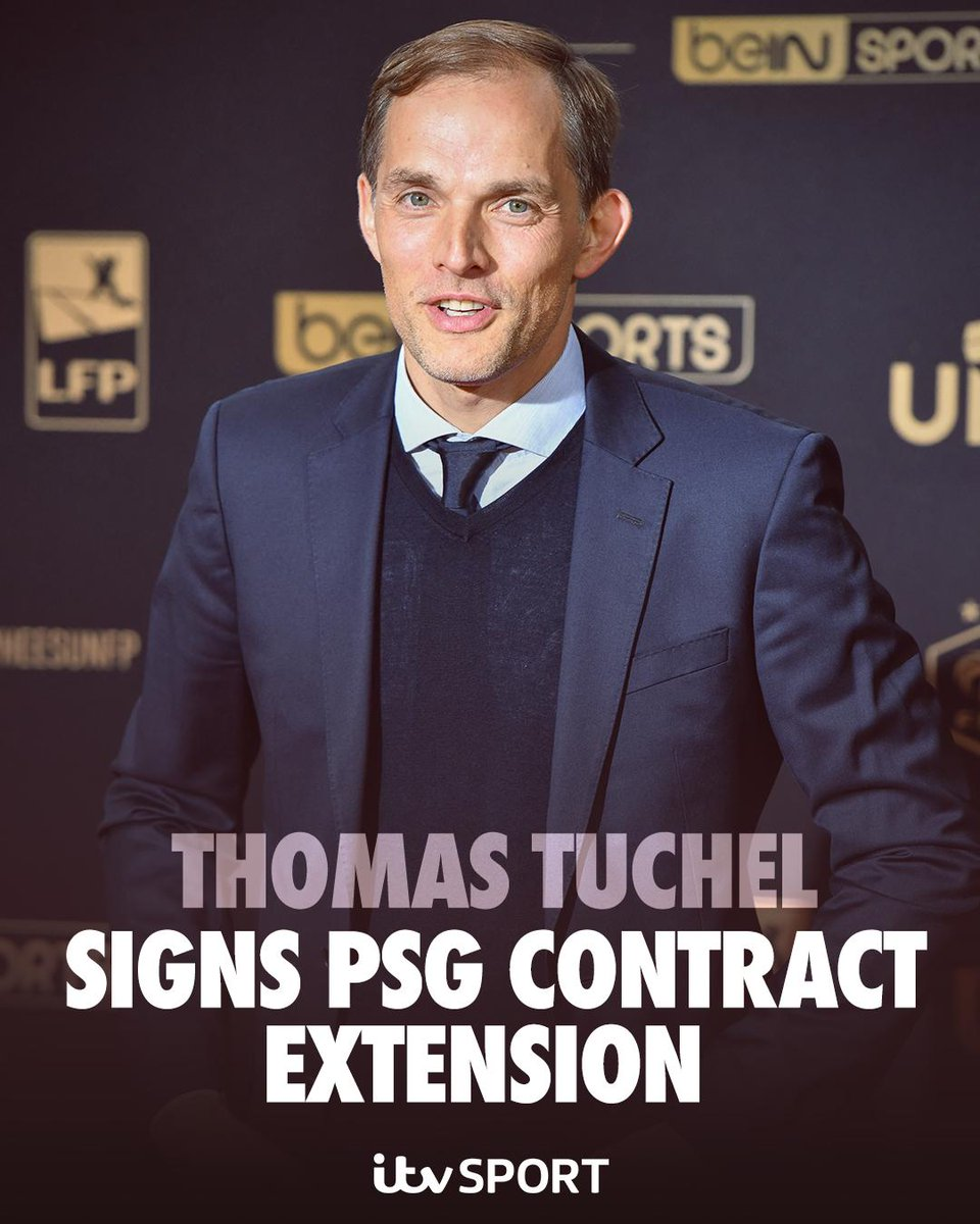 🖊️ @PSG_English end Tuchel speculation as boss signs contract extension  https://www.itv.com/news/update/2019-05-25/psg-end-tuchel-speculation-as-boss-signs-contract-extention/ …