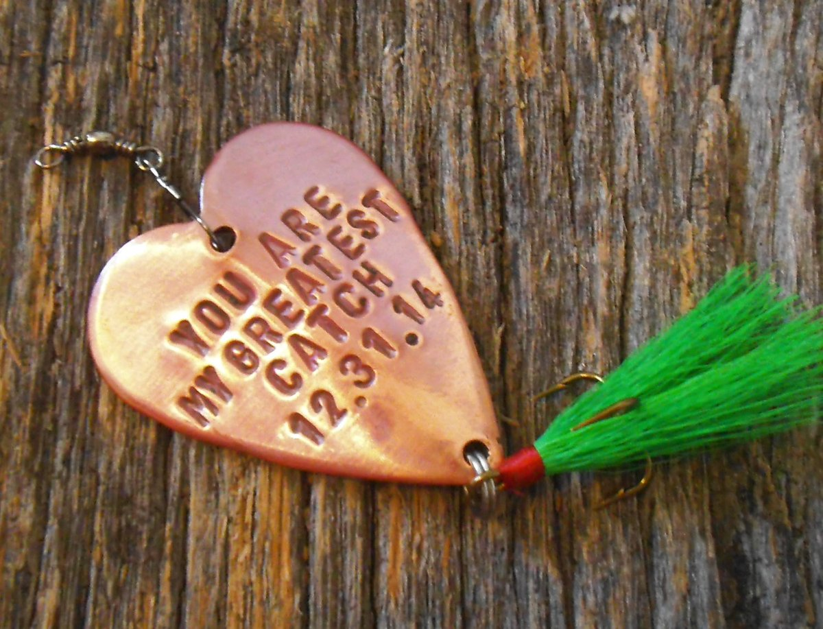 Christmas Gift for Men Christmas Idea for Husband Fishing Lure Personalized Christmas Gift Boyfriend Stocking Stuffer Dad Fisherman Father http://tuppu.net/e27d2928 #CandTCustomLures #Shopify #Friend_him_man