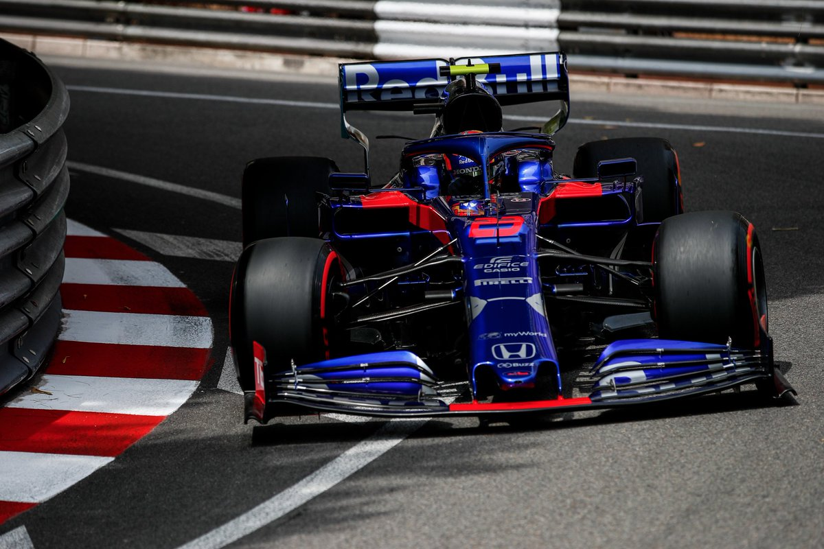 Fantastic to see @alex_albon 🇹🇭 in #F1, based on his #talent, and not $$$$ … and proves it every time he puts his @alfaromeoracing on a circuit ! BRAVO ! #F1 #MonacoGP 🇲🇨