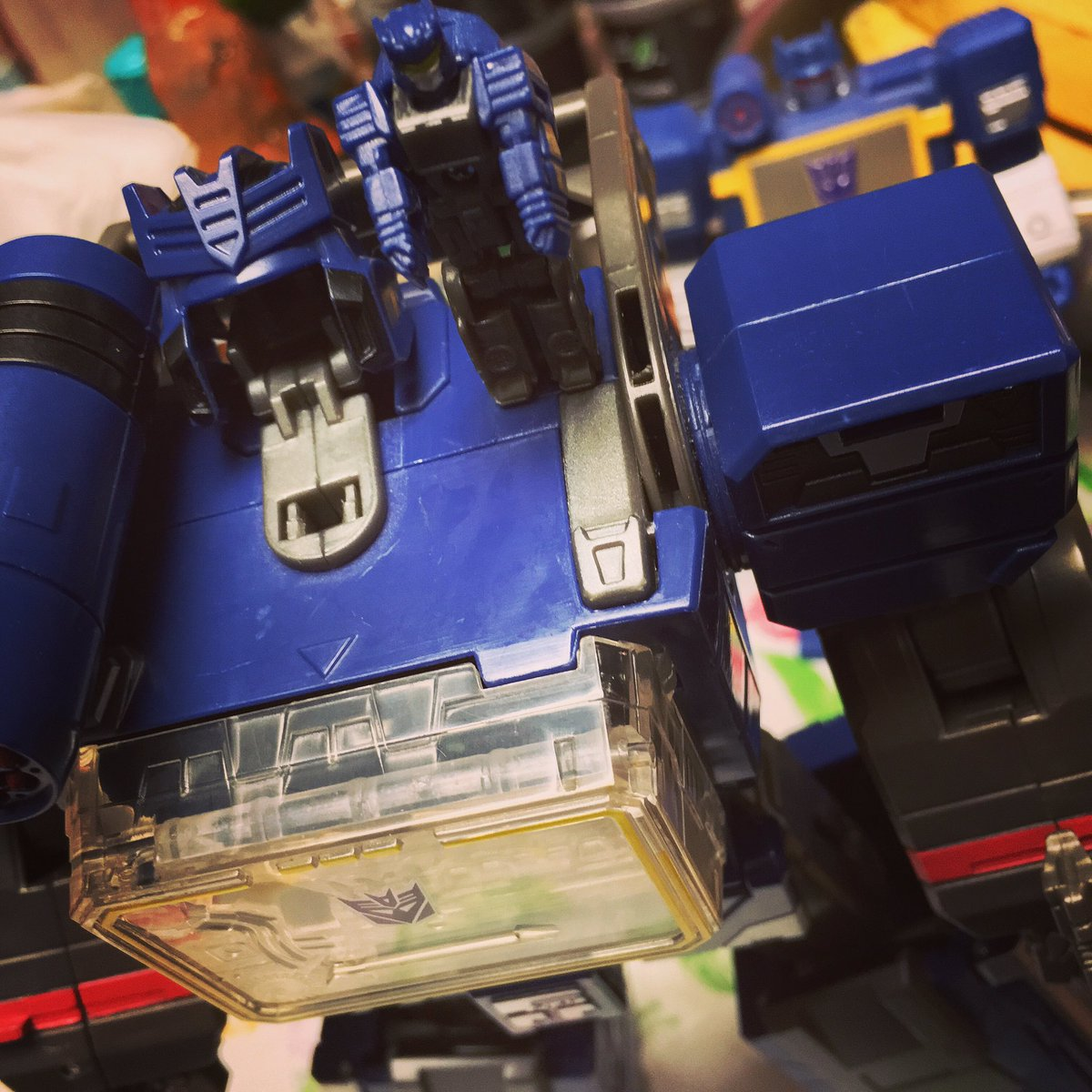 Face off! #soundwave #doombox #transformers #decepticon