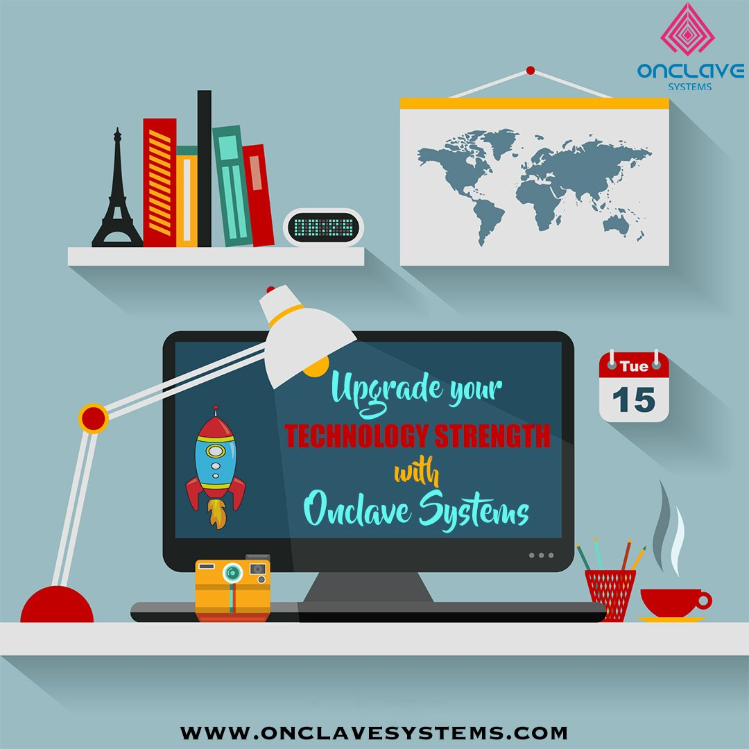 Onclave Systems is your one-stop destination for all your business's technology need.  We promise on strengthening your business and could save thousands in developers cost. Contact us now to superchange your technology strength! #Technology #Business #Development #Developers