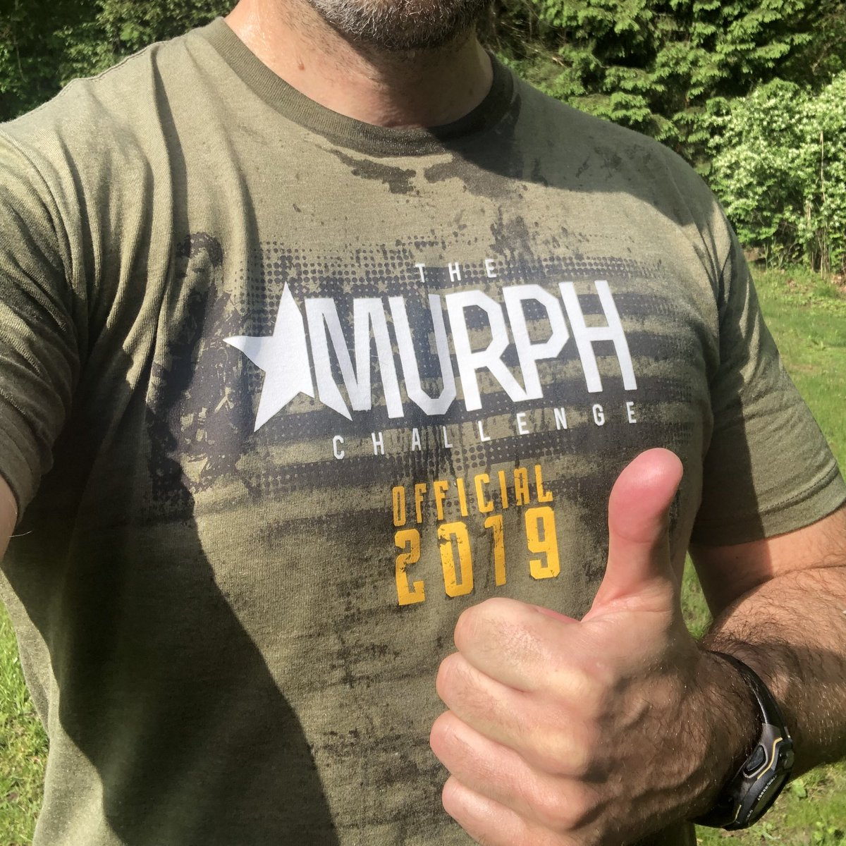 Made a small sacrifice to honor those that made the ultimate sacrifice. Working in the ER this weekend and did The Murph Challenge a couple days early. #takethechallenge @prattprattpratt @MurphChallenge
