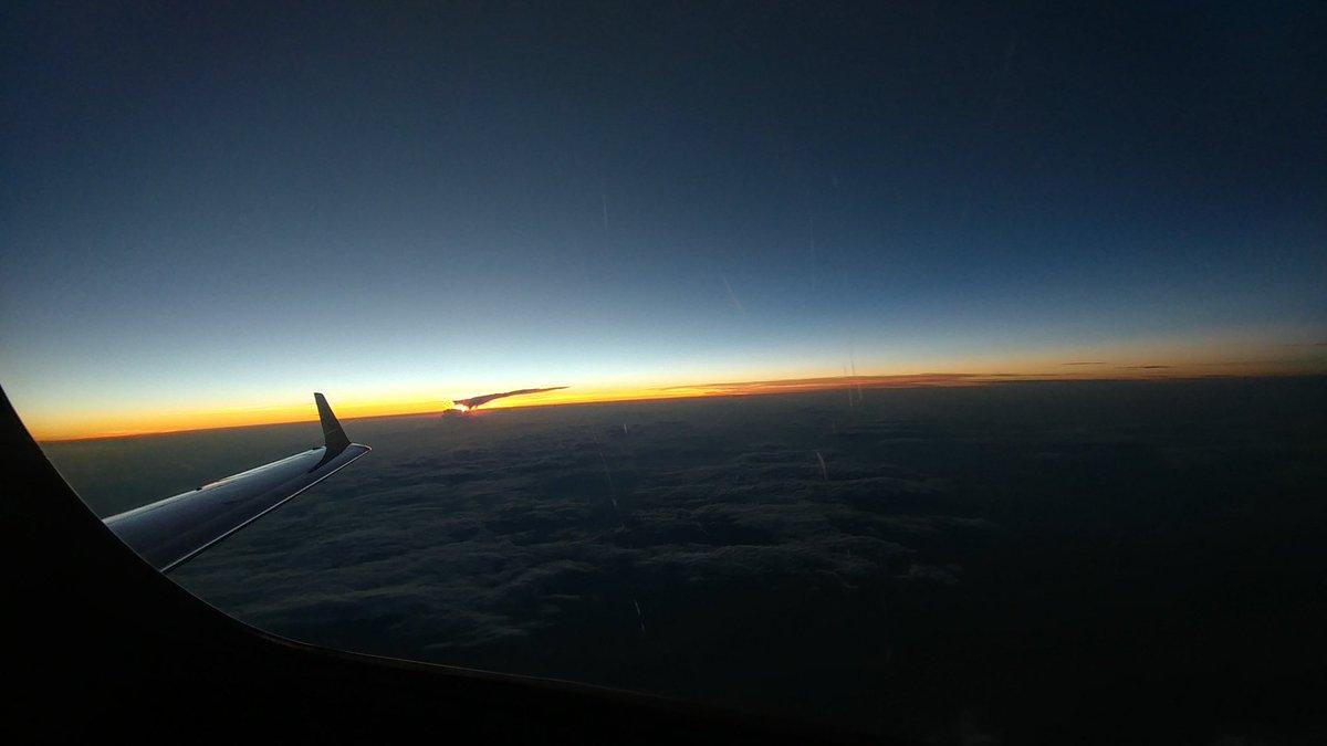 Sunset! #Aviation #avgeek #aircraft