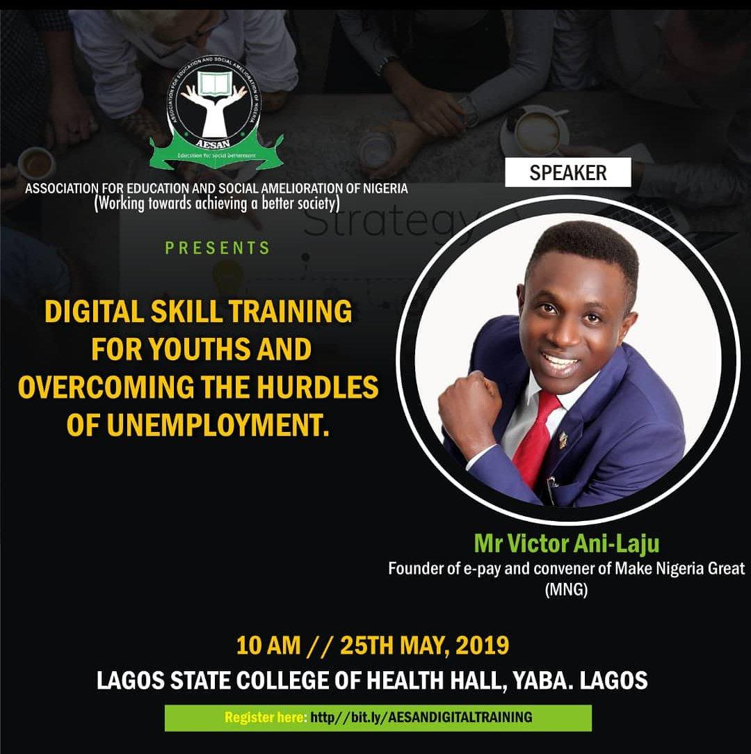 Join us.  #Skill #Development #Google #Lagos #digital #ePay #College