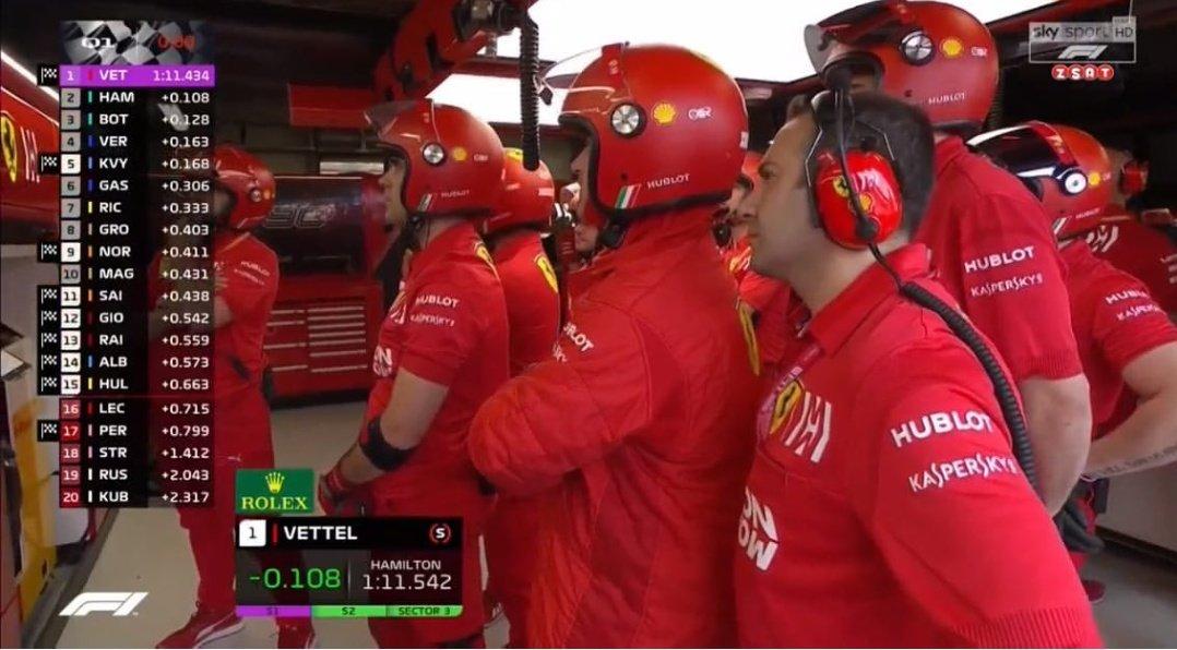 """Leclerc """"Ragazzi ho bisogno di fare un altro giro"""" Box Ferrari """"Finisce la puntata e arriviamo"""""""