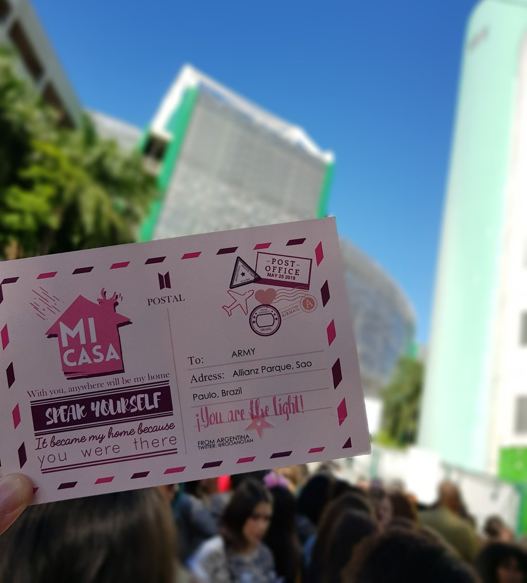 Today&#39;s magic shop  #BTSatAllianzParque @BTS_twt<br>http://pic.twitter.com/xVajjgkP6V
