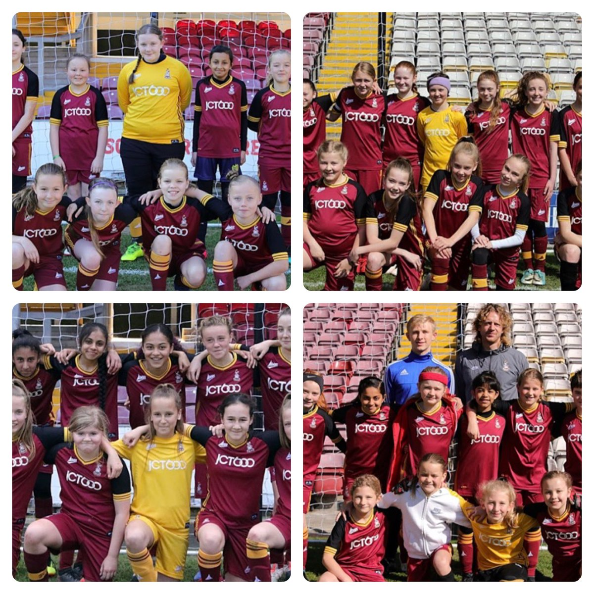 👏🏻 | As another season of junior football draws to a close we would like to congratulate our friends at @bcwfc_girls for a brilliant season!  #BCAFC #Lionesses #Development #Coaching #Bradford #WestYorkshire
