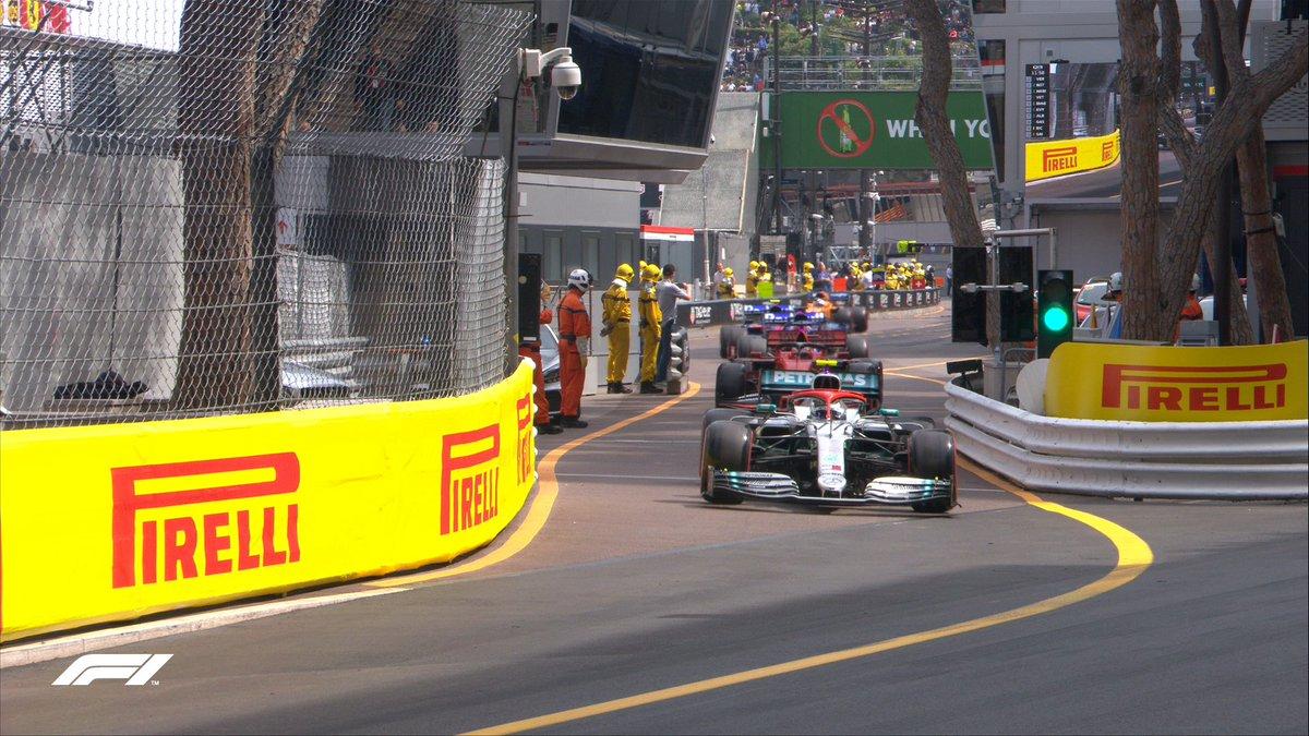 Hamilton, en la carrera.