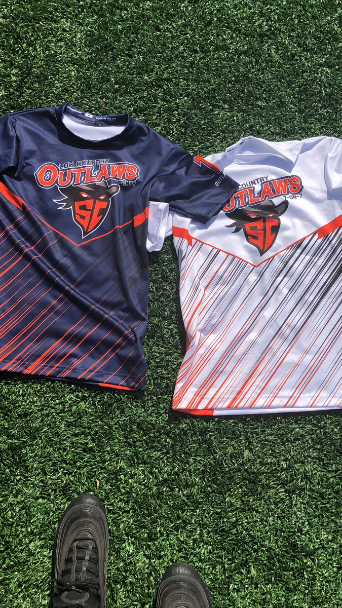 Lowcountry outlaws new uniform for the Powerade national championship 7on7 @LcOutlaws7v7<br>http://pic.twitter.com/Y21Wa79dAP