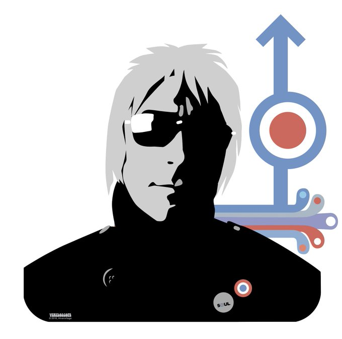 Happy birthday, Paul Weller! We can t think of a better gift than this brilliant artwork by