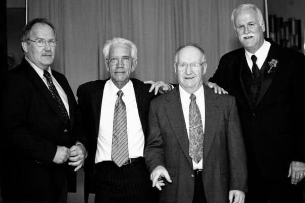 This crew is on my mind. No one can ever replace my dad, Big Al. But Doc, Bilbo and TK always have, and always will, hold a coveted starting position on #TeamAlioto.<br>http://pic.twitter.com/tlvW75zlT5
