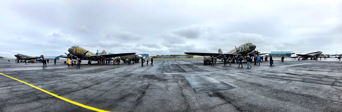 RT @BunkerAlpha: There's something incredibly special about having eight C-47/DC-3 Dakota aircraft parked on the dispersal at #PrestwickAirport - both the aircraft and the airport are rich with history #AvGeek #RadioGeek #DaksOverPrestwick #DaksOverNorma…