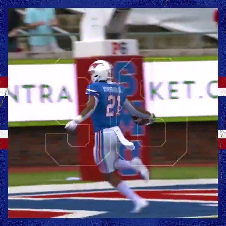 Celebrate 9⃣8⃣ days to game one with Reggie Roberson's 98-yard kickoff return TD. #PonyUpDallas