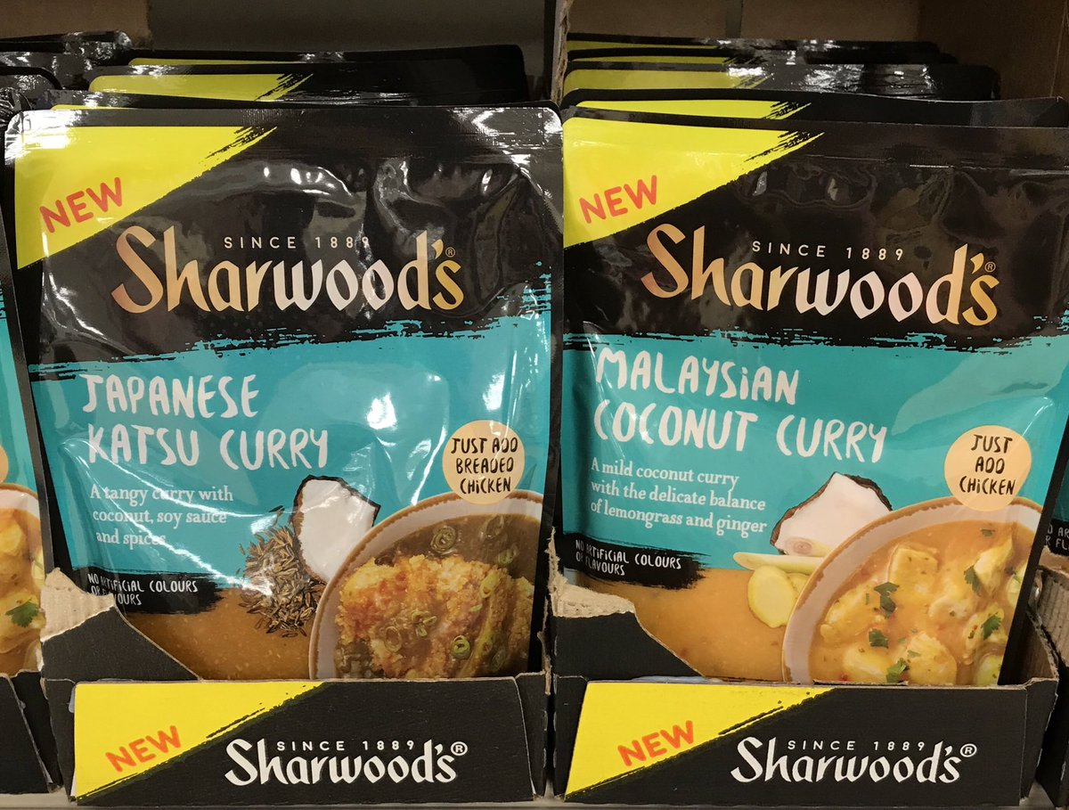 Well This Is New On Twitter Sharwoods Katsu Curry