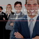 Struggling to get any action on your real estate blog?I'm revealing some of my top tips for getting more engagement on your real estate blog in this article: https://t.co/zTOnUtLaOT#realtor #realtorlife #realtors #broker #realestateagent #blogging #contentmarketing #Writer