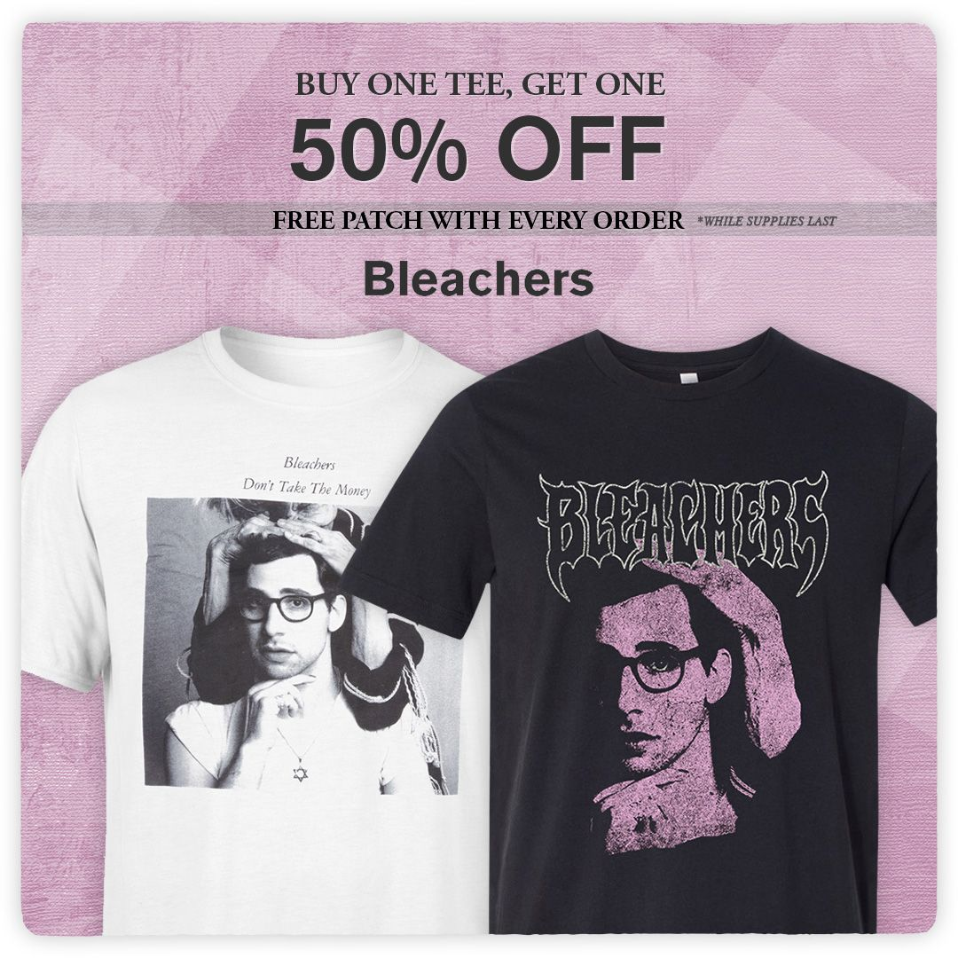 buy one get one half off t-shirts in the bleachers store now. get them while you can. https://t.co/q0Ldie8CTa https://t.co/zOqLN50ySy
