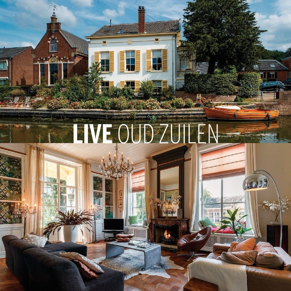 LIVE OUD ZUILEN -- Just outside Utrecht in the charming village of Oud Zuilen you will find this enchanting mansion with a charming garden. #OudZuilen #historic #monument #sothebysrealtynetherlands #sothebysrealty #Netherlands   INFO: https://buff.ly/2X2flmc