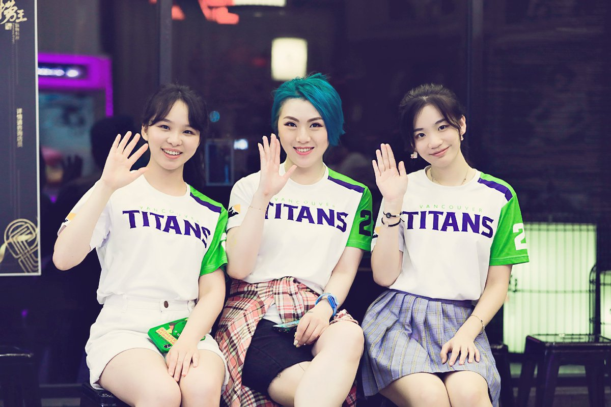 Pacific Showdown day and we all wear titans jersey with stitch's name on it. @VancouverTitans #forceofnature #overwatchleague #vancouvertitans #overwatchcontenders #pacificocshowdown