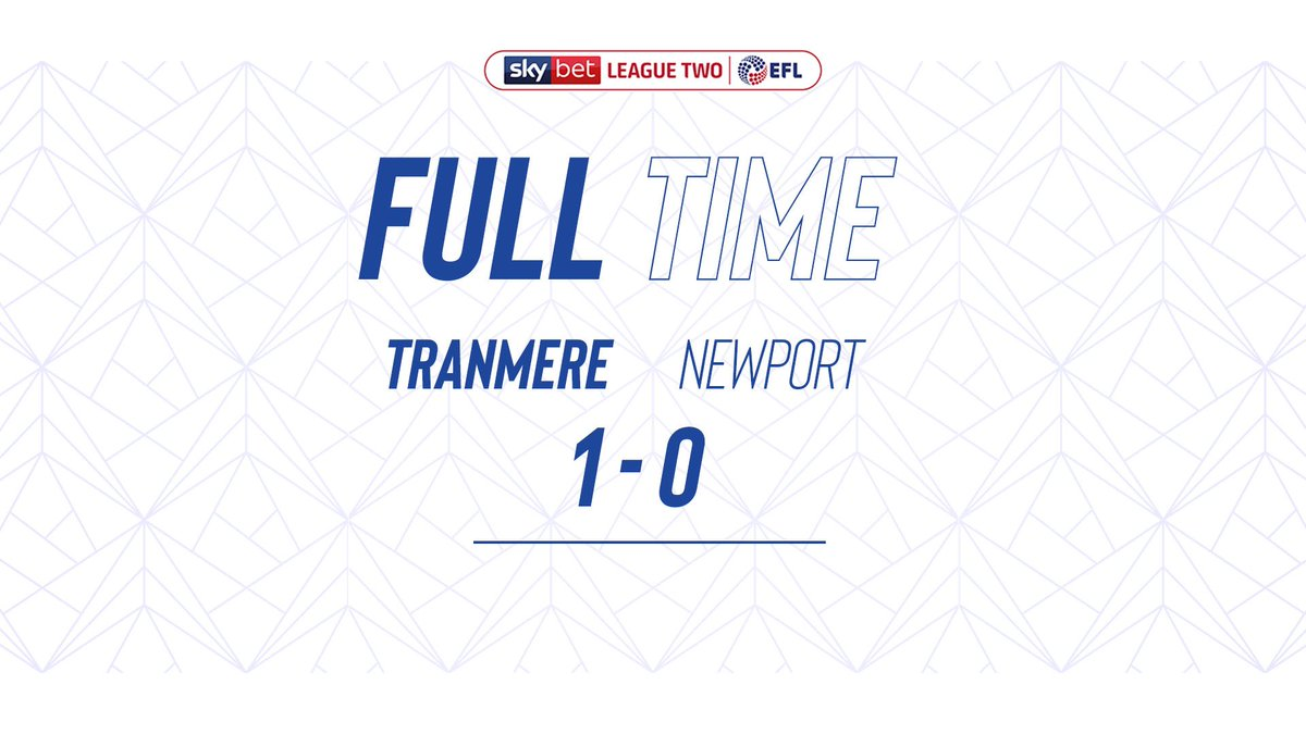 🙌!!! A massive well done. #SWA #TranmereRovers