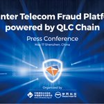 Image for the Tweet beginning: $QLC Chain Launches Counter Telecom