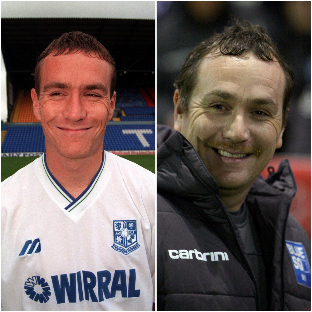 In 2016 Micky Mellon left League One Shrewsbury to join National League Tranmere Rovers.  Three years later, back-to-back promotions and he's back in League One.  Legend as a player, legend as a manager.  #SWA