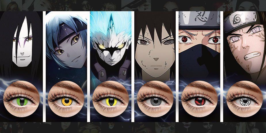 anime contacts