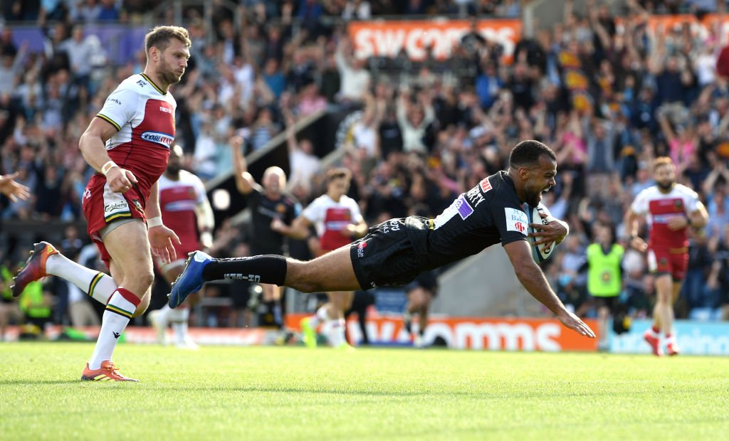 test Twitter Media - The Chiefs have done it! ⚫️  Exeter have beaten Northampton 42-12 to reach next Saturday's Premiership final 🏆 https://t.co/PlZ5kRxcu2