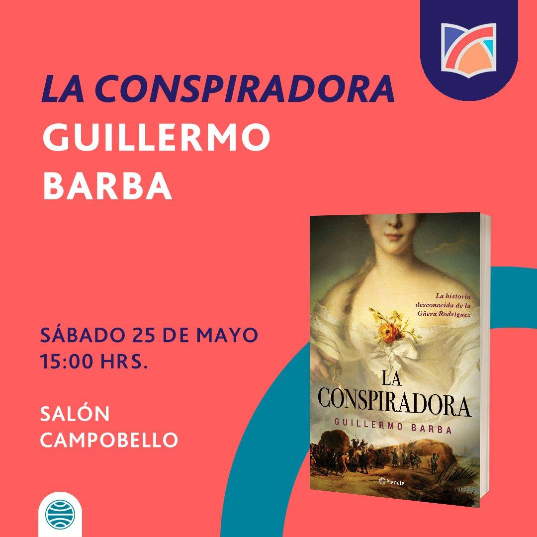 """... la presentación de su libro """"La conspiradora"""", una mujer que cambió la  historia de México y su independencia."""