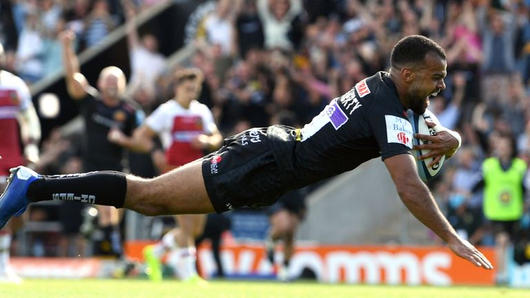 test Twitter Media - REPORT - Chiefs flurry sees off Saints 🏉  A six-try Exeter performance against Northampton ensured Rob Baxter's side a fourth successive Premiership final place after a 42-12 win.  👉 More here: https://t.co/ZkTwnjG2Ah https://t.co/DvlfHpJx16